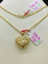 authentic gold necklace with pendant real gold and pawnable