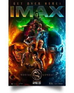 Mortal Kombat Poster Wall Art Print Poster Full Size