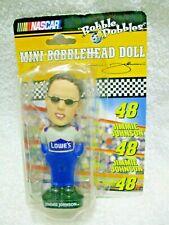 Vintage Collectible NASCAR Driver JIMMIE JOHNSON Mini Bobble Head Doll-LOWE'S!!!