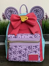 Minnie Mouse The Main Attraction Mad Tea Party Loungefly Backpack