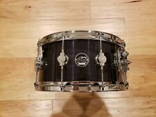 """DW 6.5X14"""" Performance Series Snare Drum in Ebony Stain High Gloss Lacquer"""