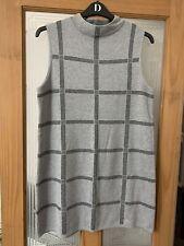 ATMOSPHERE Primark Stretchy Size 16 Elegant, Monochrome Knitted Sleeveless Dress