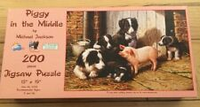 SunsOut 200 Piece Puzzle Called Piggy In The Middle By Michael Jackson