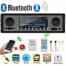 Retro Autoradio Bluetooth Freisprech-einrichtung USB SD AUX MP3 1DIN Oldtimer