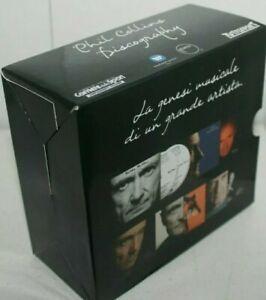 16 CD Box Cofanetto 8 CD DOPPI  PHIL COLLINS DISCOGRAPHY discografia completa