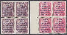 SERIE VISITA DEL CAUDILLO A CANARIAS ** 1088/1089 BLOQUES DE 4 - AÑO 1951 - LUJO
