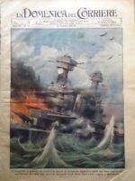 La Domenica del Corriere 14 Dicembre 1941 WW2 Giappone Guerra Pacifico Marmarica
