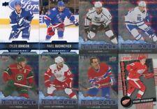 Einzelstück Eishockey-Trading Cards New York Rangers-Deck-Upper