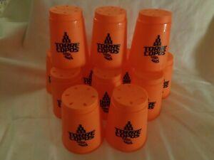 Speed stack becher Stapelbecher orange Torre Copos Celdeiräo Huck 12 Stück