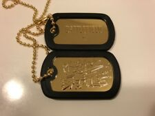 Battlefield 4 Prepare For Battle Dog Tags Gold Color