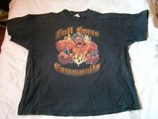 WITH FULL FORCE Metal Open Air Community 2008 T-Shirt!!