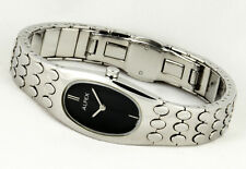 Oval Alfex Ladies Elegant Watch Swiss Made Complete Stainless Steel
