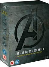 Avengers Assembled 4 Movie Collection Box Marvel Studios Blu Ray Boxset 2019 New