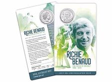 2017 Australian Cricket - Richie Benaud The Voice of Cricket 50c Coin