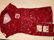 SEXY HALLOWEEN COSPLAY WOMENS SIZE 10-12 NASCAR RACING SHORT DRESS RED FUNNY FA