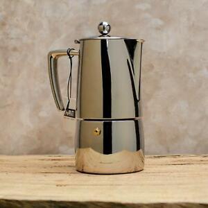 Avanti Art Deco Stovetop Coffee Maker Stainless Steel Percolator