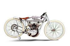 HARLEY DAVIDSON BOARD TRACK RACER LARGE POSTER