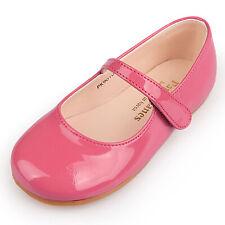 Pink Dress Court Shoes Girl Cute Comfort Lovely Lovely Footwear VelcroNEW PK9010