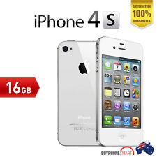 Apple iPhone 4S 16GB EXECELLENT Condition unlocked White Smartphone #