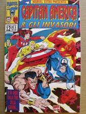 Capitan America & Gli Invasori - Marvel Extra n°12 1995 Marvel Italia  [SP18]