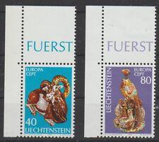 v1333 Liechtenstein/ CEPT 1976-Kunst  MiNr 642/43 ** m.Eckrand