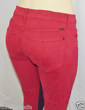 GUESS by Marciano Women's Moto Skinny in Red Victory sz 27