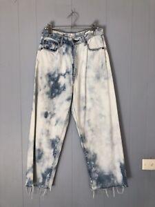 Bassike Motley Tie Dye Jeans