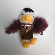 "Harley Davidson Bald Eagle Mascot 1998 10"" Plush Stuffed Animal Motorcycle Biker"