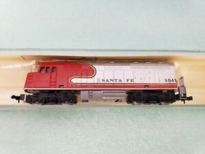 MODEL POWER 7544 SANTA FE #5941 LOCOMOTIVE F40 PH NOS YUGOSLAVIA, KIDSTOYZ®