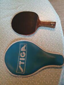 Vintage Hans Alser table tennis bat paddle