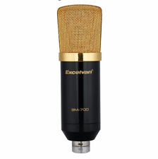 New Microphone System Excelvan BM-700 Professional Condenser Sound Recording Mic