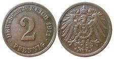 J 11   2 Pfennig Kaiserreich 1911 E in VZ-STG  502831