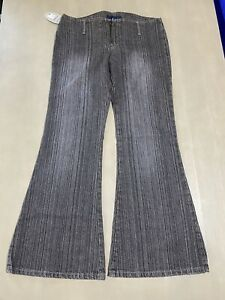 Vintage Deadstock Y2K Low Waist Girls Jeans 14 - Rave Skate Pop Skate 90s
