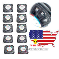 200PC RoundedCorners Orthodontics Roth .022 Ceramic Bracket Braces 345 Hooks