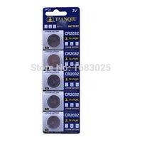 5 Knopfzellenbatterien CR 2032 Für -schieber Meß- Gleichgewicht elektronische