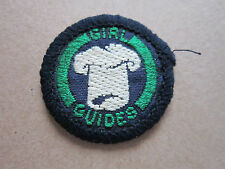 Cook Interest Proficiency Girl Guides Woven Cloth Patch Badge