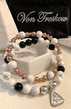 Von Treskow Stretch Bracelet Duo. Brand New.