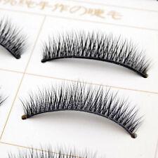 5Pairs Natural 100% Handmade Eye Lashes Extention Crisscross False Eyelashes EA3