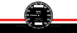 Smiths chronometric dial face - Norton