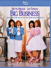 BIG BUSINESS BLU RAY MOVIE LILY TOMLIN BETTE MIDLER MICHAEL GROSS FREE SHIPPING