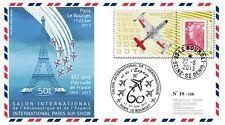 """PAF13 FDC """"60 ans Patrouille de France - Paris Le Bourget / Avion ALPHAJET"""" 2013"""