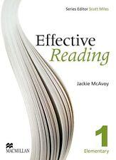 Effective Reading 1. Student's Book von Chris Gough (2009, Taschenbuch)