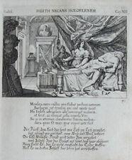 1679 Bibel Biblia Judith und Holofernes Kupferstich Küsel