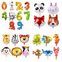 Jungle Animal Foil Balloon Baby Shower Favor Kids Safari Birthday Party Supply