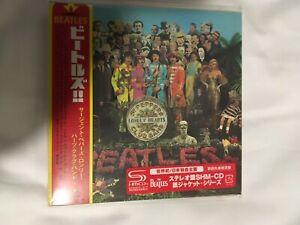 Beatles Sergeant Pepper's Lonely Hearts Club Band Japan  SHM Mini CD new sealed