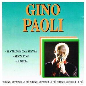 Gino Paoli,I più grandi successi,CD-Il Cielo In Una Stanza,La Gatta,Senza Fine,