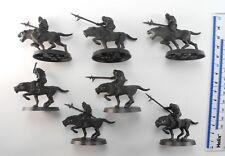 7 Warg Riders plastique seigneur des anneaux LOTR EVIL ARMY Ouargues WARHAMMER 76