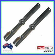 "DECK BLADES FOR 42"" VICTA , VIKING & MASPORT RIDE ON MOWERS"