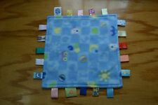 Little Taggies Puppy Dog Blue Lovey Security Blanket Car Yellow Moon Ball Number