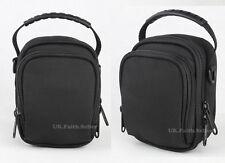Cintura Hombro Bolsa Funda Cámara para Sony Cyber-Shot Dsc Hx90v Hx90 Wx500